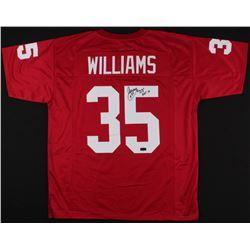 "Aeneas Williams Signed Cardinals Jersey Inscribed ""HOF 14"" (Radtke COA)"