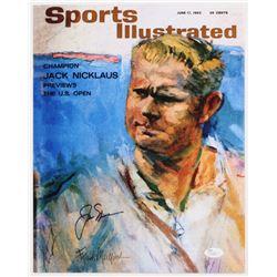 Jack Nicklaus Signed Sports Illustrated 11x14 Photo (JSA COA)