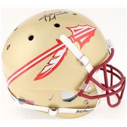 James Winston Signed Florida State Seminoles Full-Size Helmet (Radtke COA  Winston Hologram)