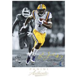 "Leonard Fournette Signed LSU Tigers ""Breakaway Speed"" 16x20 Limited Edition Photo (Panini COA)"