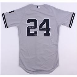 "Gary Sanchez Signed Limited Edition Yankees Jersey Inscribed ""1st ML HR 8/10/16"" (Steiner COA)"