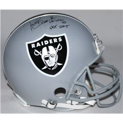 "Tim Brown Signed Raiders Limited Edition Full-Size Authentic On-Field Helmet Inscribed ""Heisman '87"""