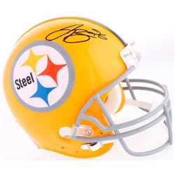 Le'Veon Bell Signed Steelers Throwback Full-Size Helmet (JSA COA)