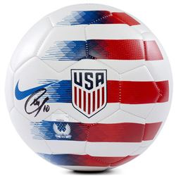 Christian Pulisic Signed Nike 2018 USA White Prestige Soccer Ball (Panini COA)
