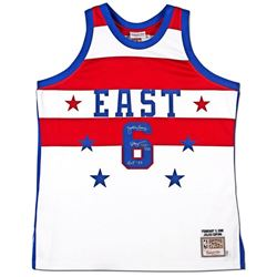 "Julius ""Dr. J"" Erving Signed 1980 All Star Limited Edition Jersey Inscribed ""HOF '93"" (UDA COA)"