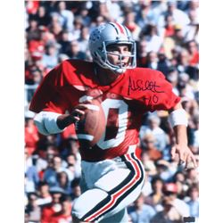 Art Schlichter Signed Ohio State Buckeyes 16x20 Photo (Radtke Hologram)