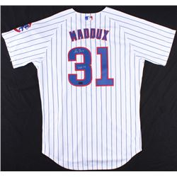 "Greg Maddux Signed Cubs Jersey Inscribed ""HOF 14"" (Radtke COA)"