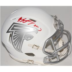 Keanu Neal Signed Falcons ICE Speed Mini Helmet (Radtke COA)