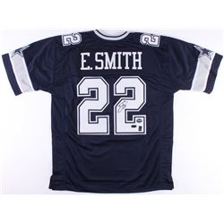 Emmitt Smith Signed Cowboys Jersey (Radtke COA  Prova Hologram  Smith Hologram)