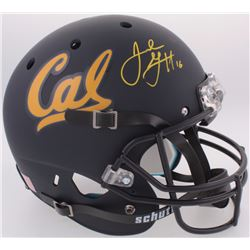 Jared Goff Signed California Golden Bears Full-Size Helmet (JSA COA)