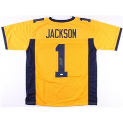DeSean Jackson Signed California Golden Bears Jersey (JSA COA)