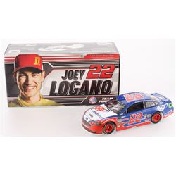 Joey Logano Signed NASCAR #22 AAA Insurance 2018 Fusion 1:24 Limited Edition Premium Action Diecast