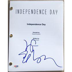 "Jeff Goldblum Signed ""Independance Day"" Full Movie Script (PSA COA)"