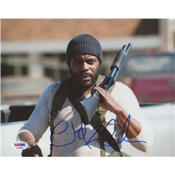 Chad Coleman Signed  The Walking Dead  8x10 Photo (PSA COA)