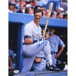 Don Mattingly Signed New York Yankees 11x14 Photo (PSA COA)