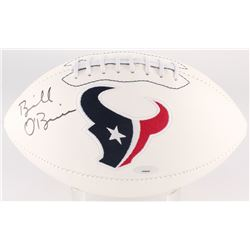 Bill O'Brien Signed Texans Logo Football (Tristar Hologram)