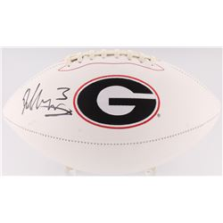 Todd Gurley Signed Georgia Bulldogs Logo Football (Radtke COA)