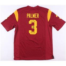Carson Palmer Signed USC Trojans Nike Jersey Inscribed  Heisman 02  (Radtke COA)