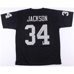 Bo Jackson Signed Raiders Jersey (Jackson Hologram)