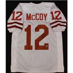 Colt McCoy Signed Texas Longhorns Jersey (PSA COA)