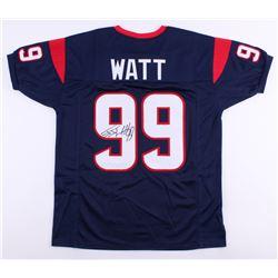 J. J. Watt Signed Texans Jersey (JSA COA)