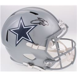 Emmitt Smith Signed Dallas Cowboys Full-Size Speed Helmet (Prova COA)