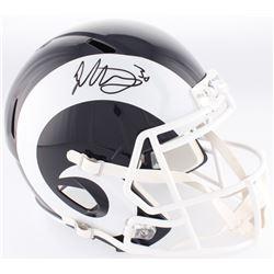 Todd Gurley Signed Rams Full-Size Speed Helmet (Radtke COA)