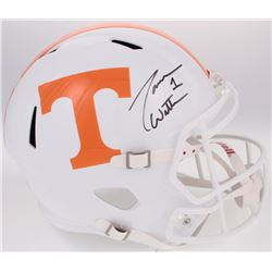 Jason Witten Signed Tennessee Volunteers Full-Size Speed Helmet (Radtke COA)