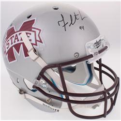 Fletcher Cox Signed Mississippi State Bulldogs Full-Size Helmet (Fanatics Hologram)