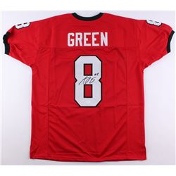 A.J. Green Signed Georia Bulldogs Jersey (JSA COA)