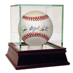 "Jim ""Catfish"" Hunter Signed OAL Baseball (PSA Hologram)"