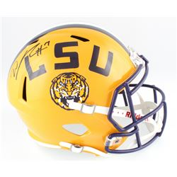 DJ Chark Signed LSU Tigers Full-Size Speed Helmet (Radtke COA  Chark Hologram)