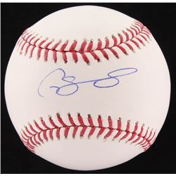 Gary Sanchez Signed Yankees OML Baseball (JSA COA)