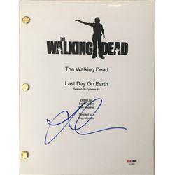 "Lauren Cohan Signed ""The Walking Dead"" Episode Full Script (PSA COA)"