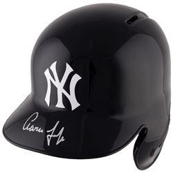 Aaron Judge Signed Yankees Full-Size Batting Helmet (Fanatics Hologram  MLB Hologram)
