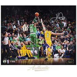 "Kyrie Irving Signed LE Celtics ""Separation"" 16x20 Photo (Panini COA)"