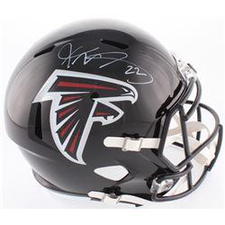 Keanu Neal Signed Falcons Full-Size Speed Helmet (Radtke COA)