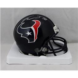 Tyrann Mathieu Signed Texans Mini Helmet (Beckett COA)