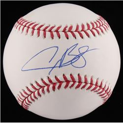 Alex Bregman Signed OML Baseball (TriStar COA)