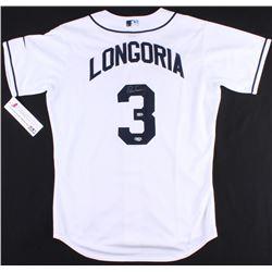 Evan Longoria Signed Rays Jersey (Radtke COA  MLB Hologram)