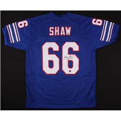 "Billy Shaw Signed Bills Jersey Inscribed ""HOF '99"" (Jersey Source COA)"