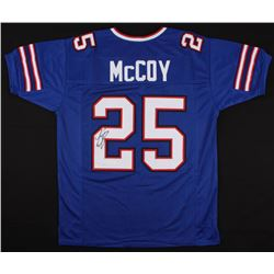 LeSean McCoy Signed Bills Jersey (JSA COA)