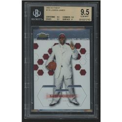 2002-03 Finest #178 LeBron James RC (BGS 9.5)