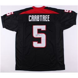 Michael Crabtree Signed Texas Tech Red Raiders Jersey (JSA COA)
