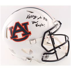 "Kerryon Johnson Signed Auburn Tigers Full-Size Authentic Speed Helmet Inscribed ""War Eagle!!"" (Radtk"