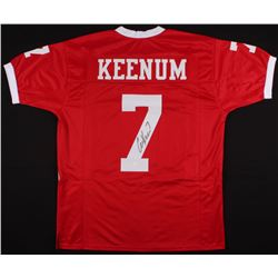 Case Keenum Signed Houston Cougars Jersey (JSA COA)