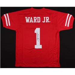 Greg Ward Jr. Signed Houston Cougars Jersey (JSA COA)
