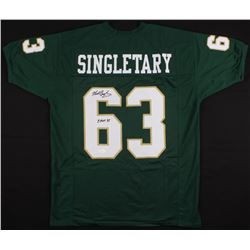 "Mike Singletary Signed Baylor Bears Jersey Inscribed ""CHOF 94"" (JSA COA)"