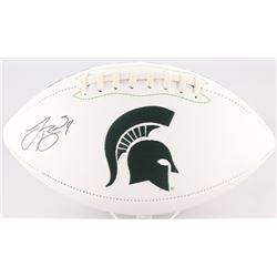 LeVeon Bell Signed Michigan State Spartans Logo Football (JSA COA)