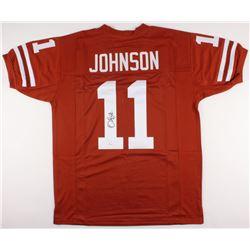 Derrick Johnson Signed Texas Longhorns Jersey (JSA COA)